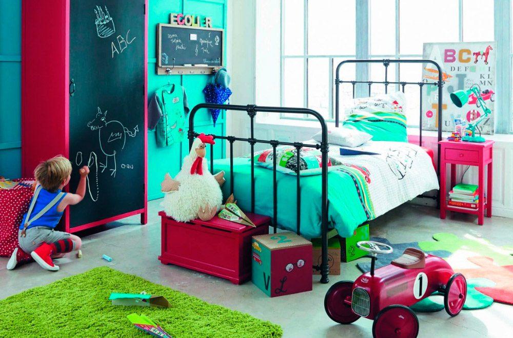 Cama de forja para habitaci n infantil original for Cama original