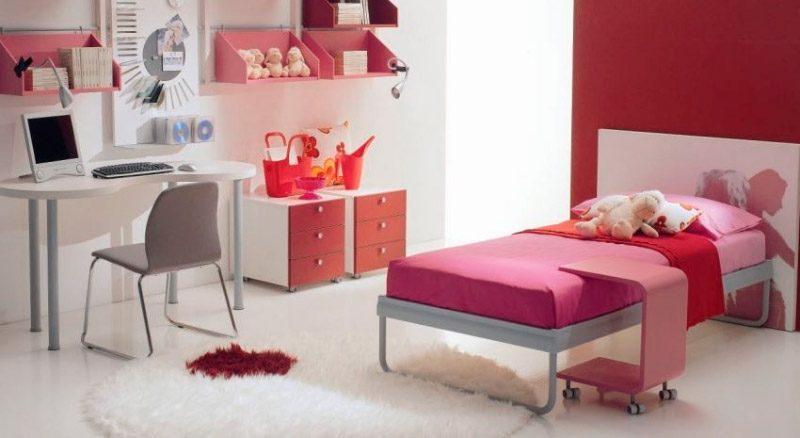 Camas infantiles para ni as - Habitaciones para nina de 11 anos ...