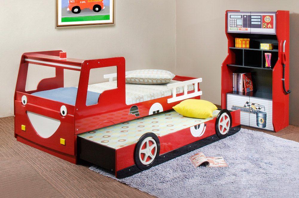 cama original de camin de bomberos