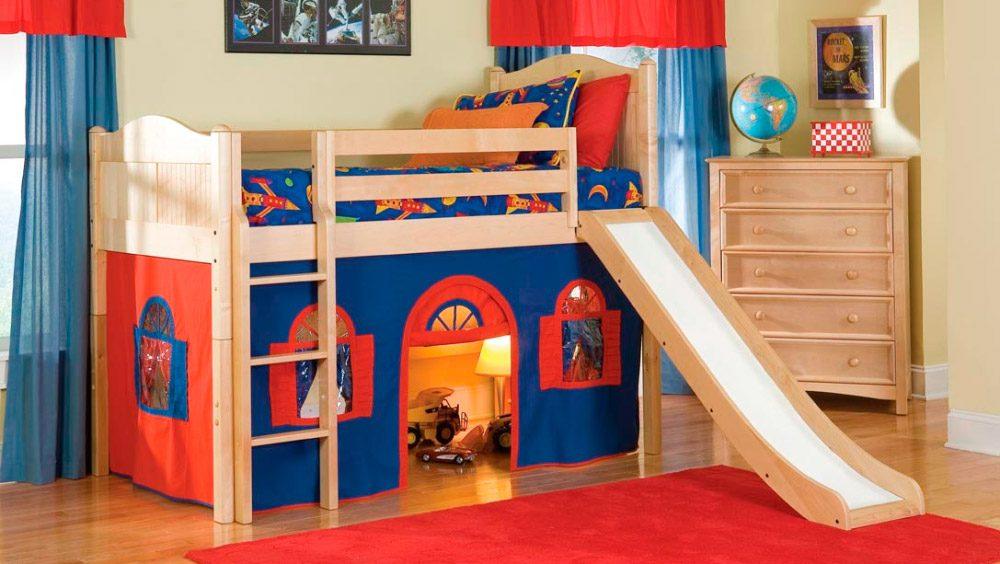 Camas infantiles para ni os - Habitaciones originales para ninos ...
