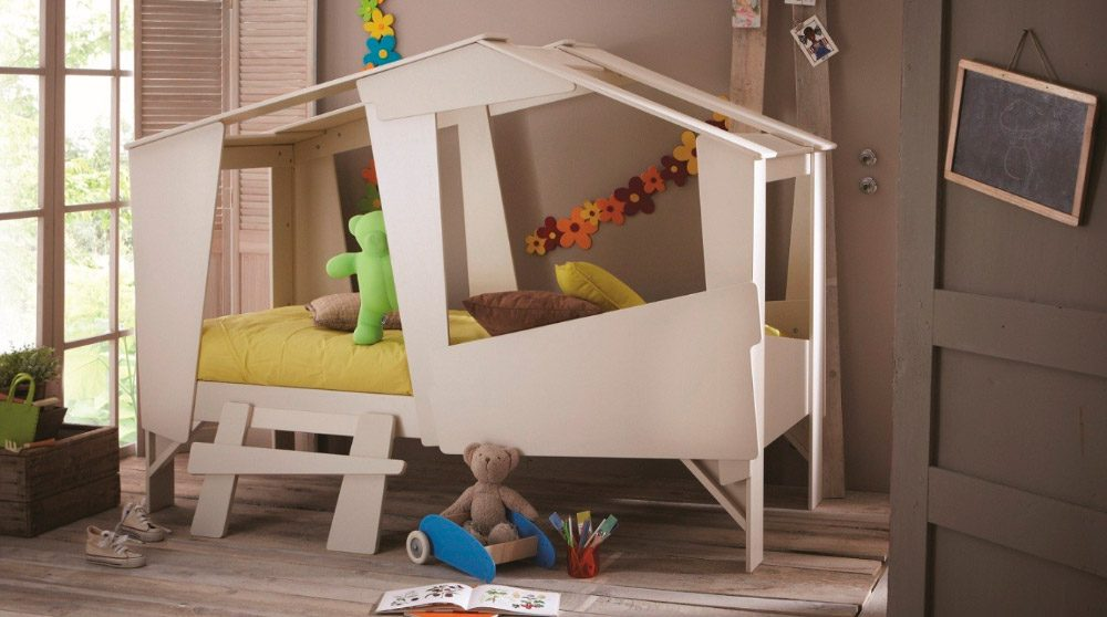 Casitas infantiles para ni os for Cama de casita