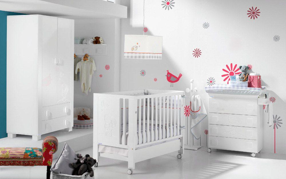 Colores para una habitaci n con estilo n rdico im genes y fotos - Pintar habitaciones infantiles ...