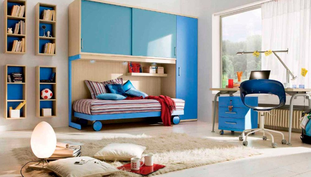 Ideas para habitaciones de adolescentes for Recamaras para jovenes minimalistas