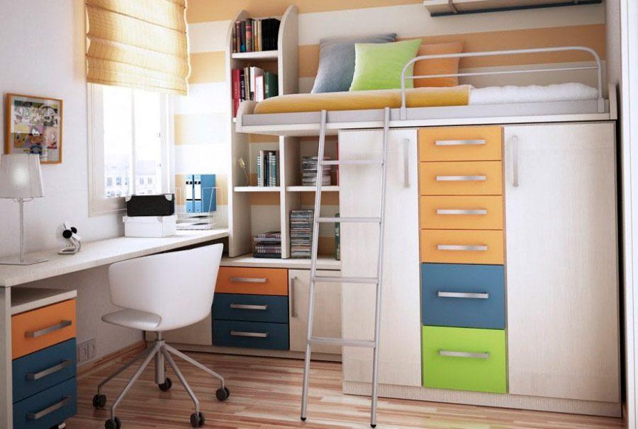 Ideas Para Habitaciones Pequenas - Habitaciones-pequeas-nios