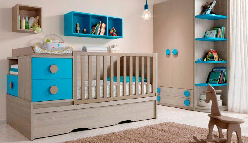 Ideas para habitaciones de beb s - Habitaciones de bebes modernas ...