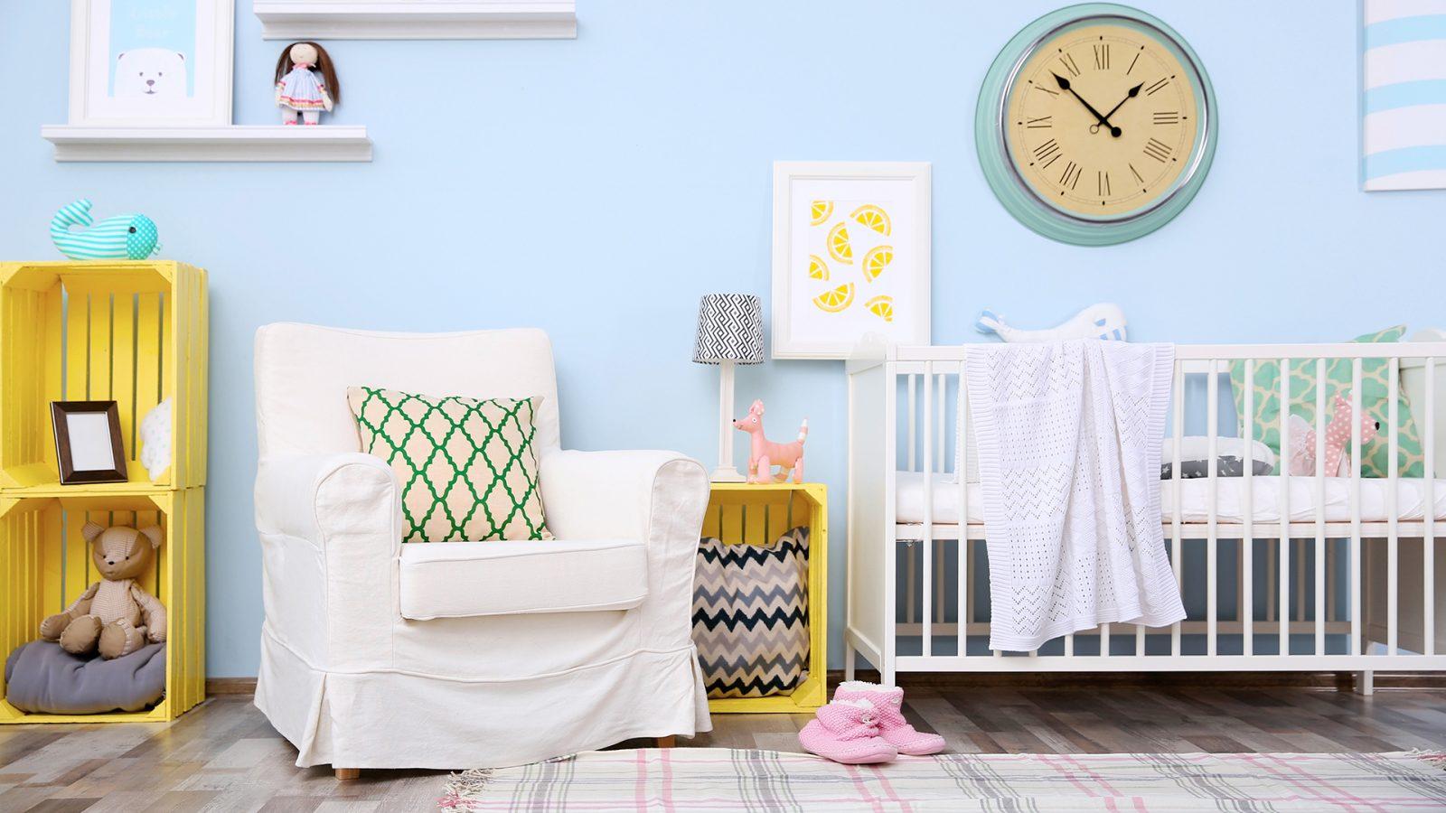 Cómo elegir muebles cómodos para decorar el cuarto infantil