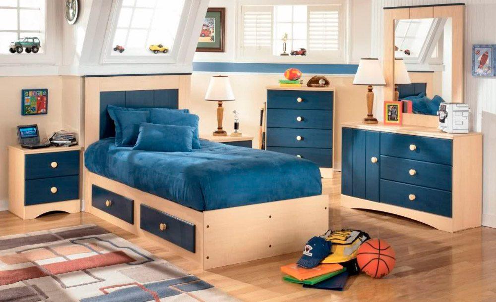 Ideas para habitaciones infantiles cl sicas for Habitacion madera