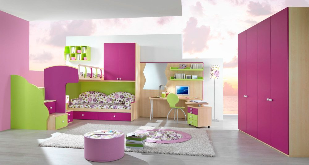 Ideas para habitaciones para ni as for Decoracion de recamaras infantiles modernas