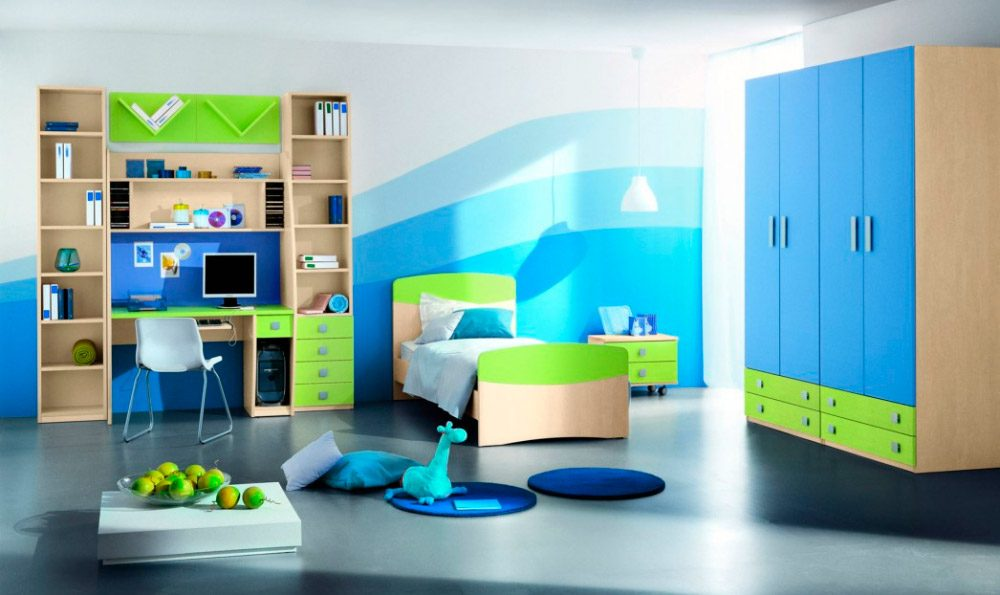 Ideas para habitaciones infantiles modernas for Muebles infantiles modernos