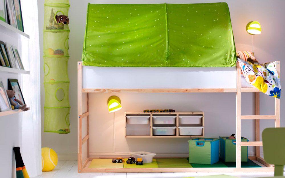 Habitaciones para ni os ikea - Habitacion con literas para ninos ...