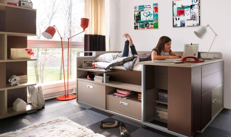 Ideas para habitaciones de adolescentes - Chambre ado avec lit mezzanine ...