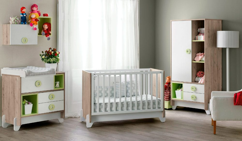 Ideas para habitaciones de beb s - Habitacion bebe moderna ...