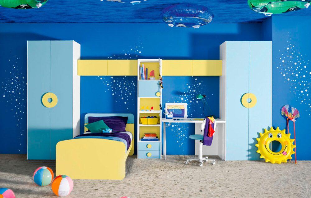 Galer a de im genes ideas para habitaciones infantiles for Idea de habitacion infantil