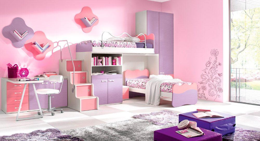 habitacin doble con cama y litera modular ideas para decorar