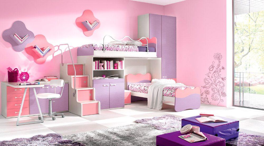 Ideas para habitaciones dobles infantiles