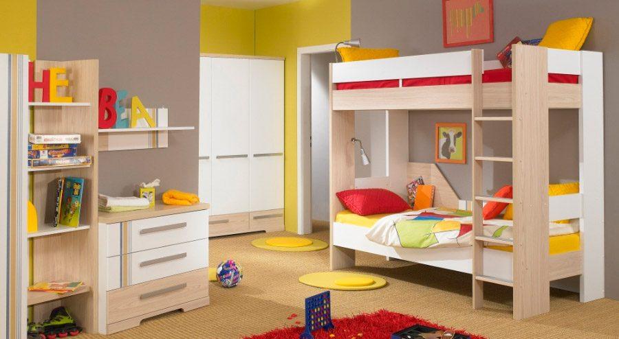 Ideas para habitaciones dobles infantiles - Habitacion con litera ...