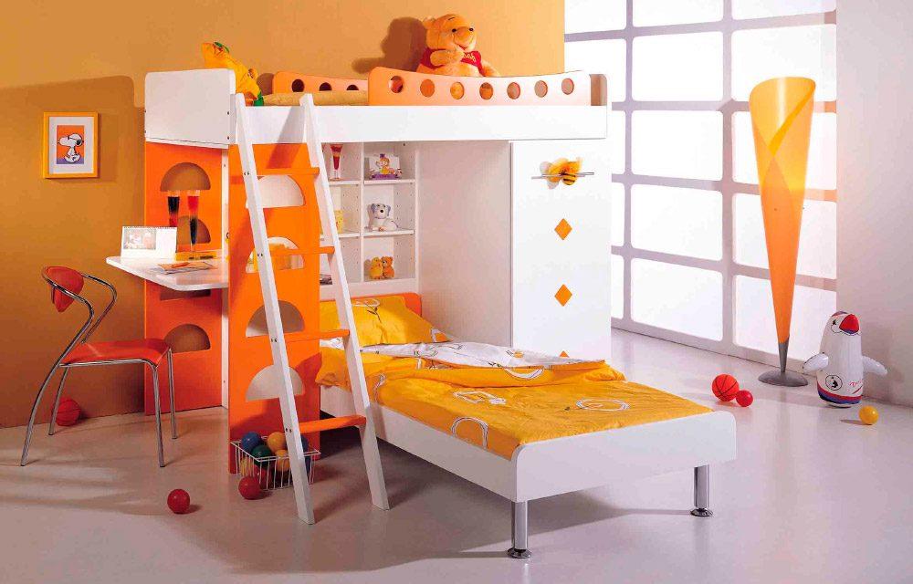 Galer a de im genes ideas para habitaciones dobles infantiles - Habitaciones infantiles dobles poco espacio ...