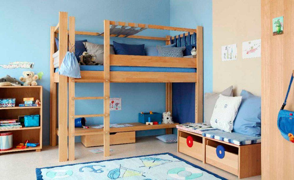 Ideas para habitaciones para ni os - Doble cama para ninos ...