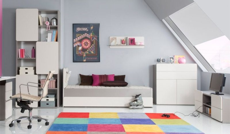 Ideas para habitaciones de adolescentes for Habitaciones para ninas adolescentes modernas