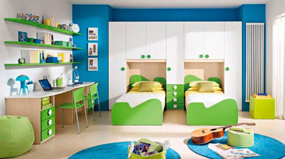 Colores para habitaciones infantiles - Habitacion infantil azul ...