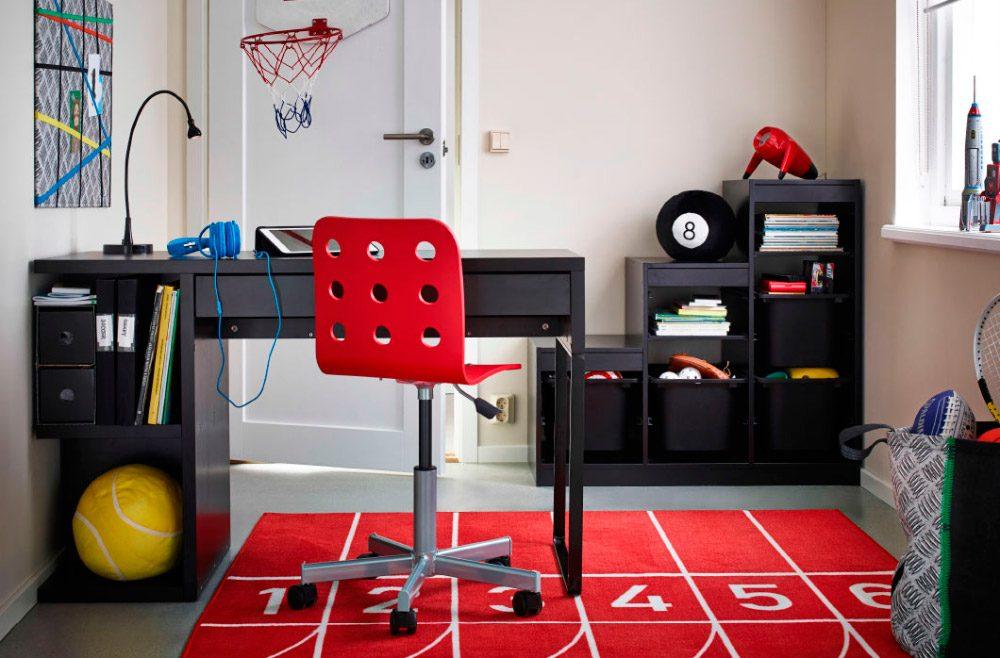 Habitaciones juveniles ikea - Decoracion habitacion estudio ...