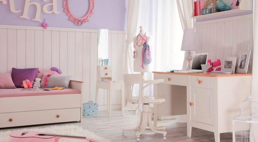 Ideas de dise o habitaci n juvenil ni a decoraci n de - Decoracion habitacion de nina ...