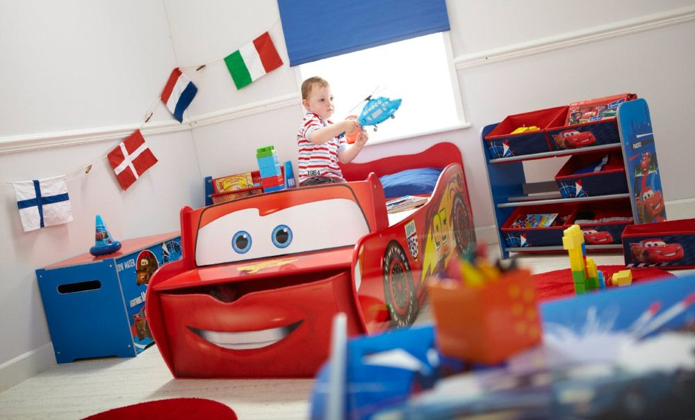 Habitaci n infantil con cama de cars im genes y fotos - Ideas pintar habitacion infantil ...