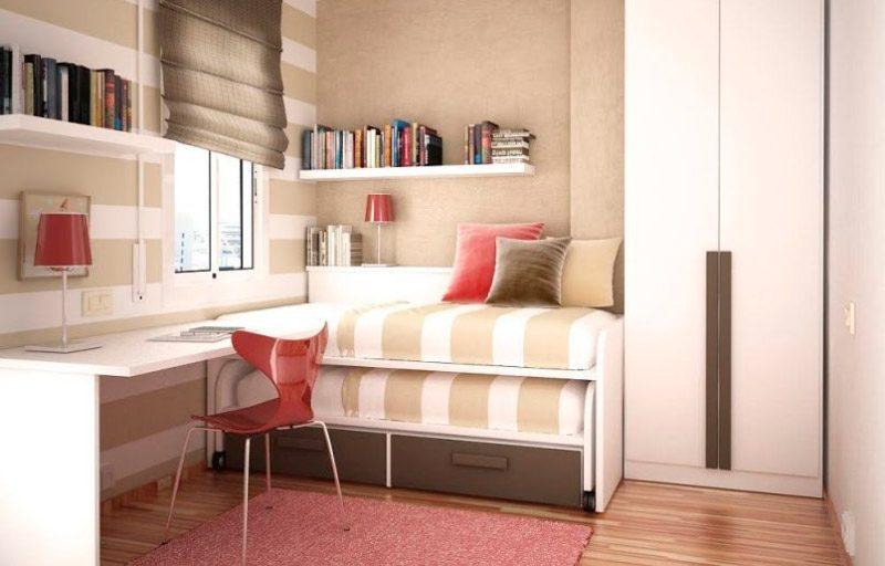 Ideas para habitaciones peque as - Muebles habitacion pequena ...