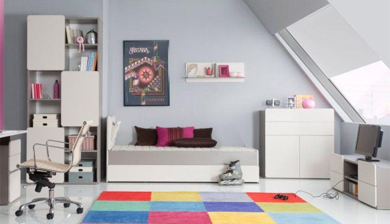 Ideas para habitaciones para ni as for Recamaras modernas para jovenes