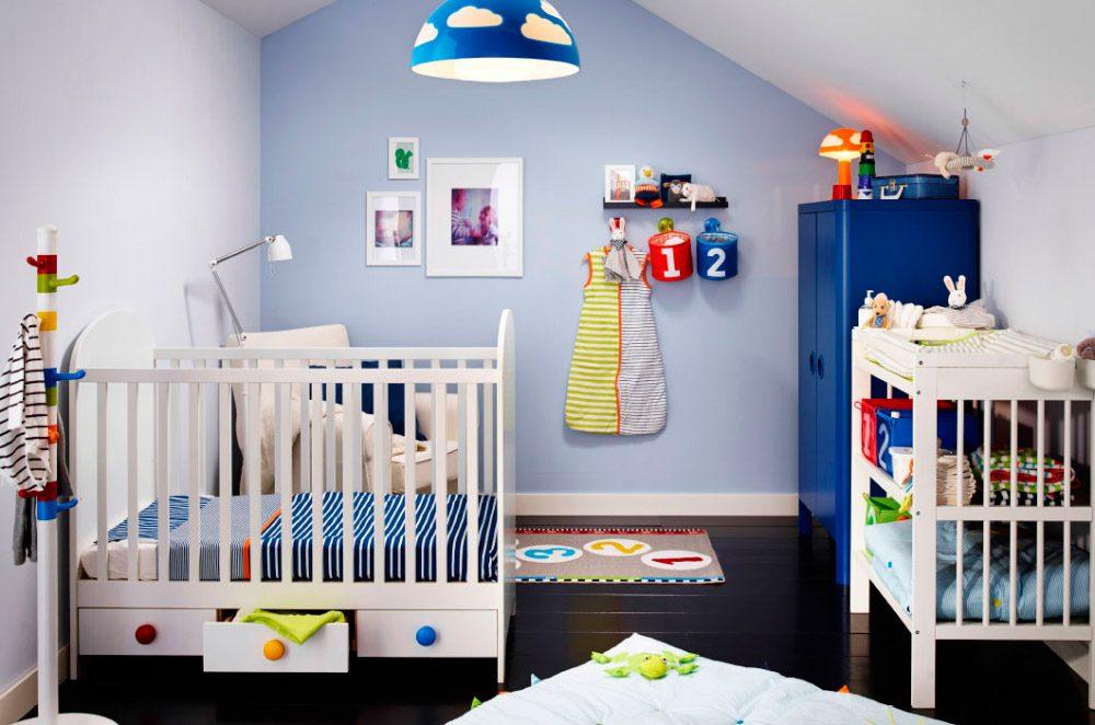 Galer a de im genes habitaciones de beb s ikea - Habitaciones decoradas para bebes ...
