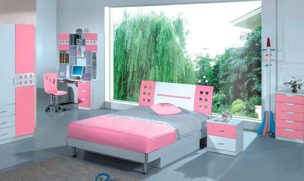 Abitaciones modernas imagen modernas y elegantes para for Camas infantiles diseno moderno