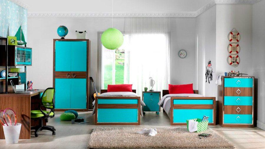 Habitaci n para ni os estilo mediterr neo im genes y fotos - Muebles estilo mediterraneo ...