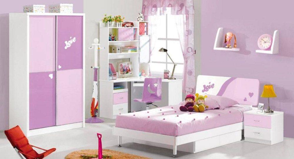 Ideas para habitaciones infantiles - Habitacion rosa palo ...