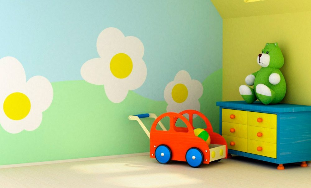 Ideas para pintar habitaciones infantiles for Habitacion para 2 ninos