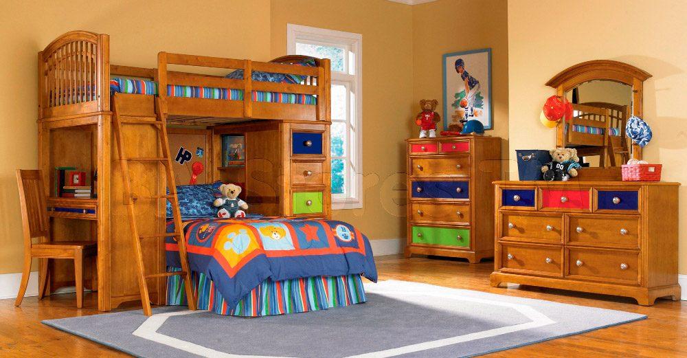 Habitaciones infantiles con literas - Dormitorios infantiles dobles ...