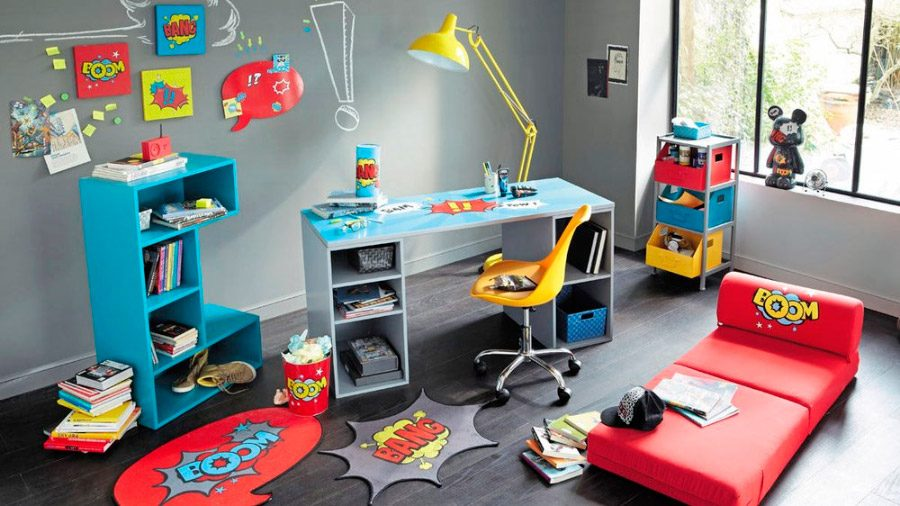 Ideas para habitaciones de adolescentes for Cuartos decorados jovenes