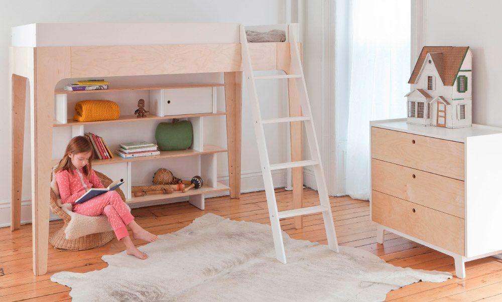 Litera con espacio inferior para habitaciones pequeñas ...