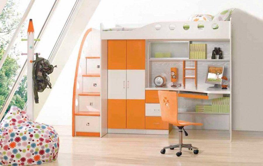 Galeria De Imagenes Camas Infantiles Para Ninas - Habitaciones-pequeas-nios