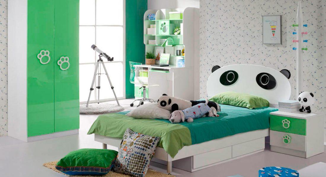 Dormitorios juveniles nia dormitorio modular cama nidoy for Muebles de habitacion infantil