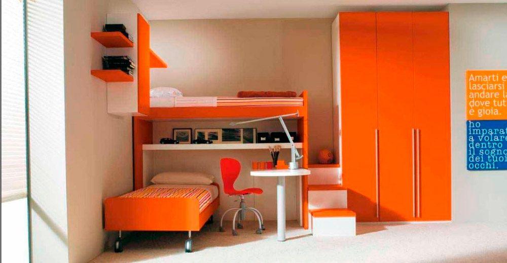 Galer a de im genes habitaciones infantiles con literas - Habitaciones pequenas ikea ...