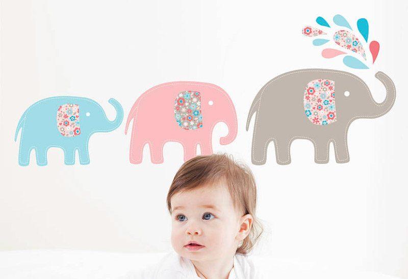 Vinilos infantiles para habitaciones de beb s for Vinilos para habitacion bebe nina