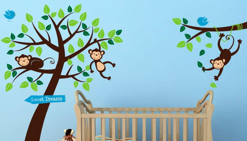 Vinilos infantiles para habitaciones de beb s for Vinilos para habitaciones de ninos